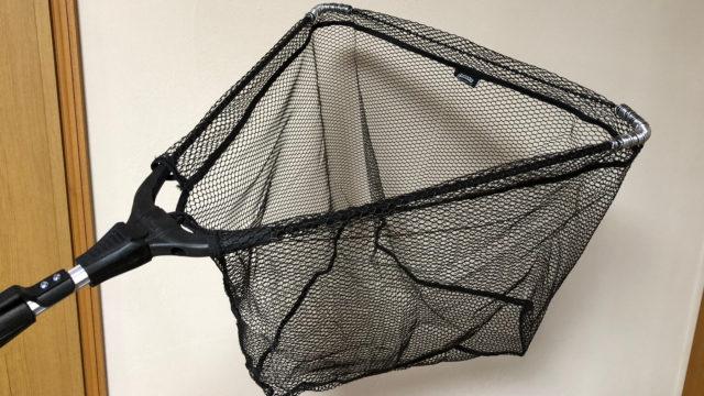 ガサガサ タモ網 補強 方法 やり方