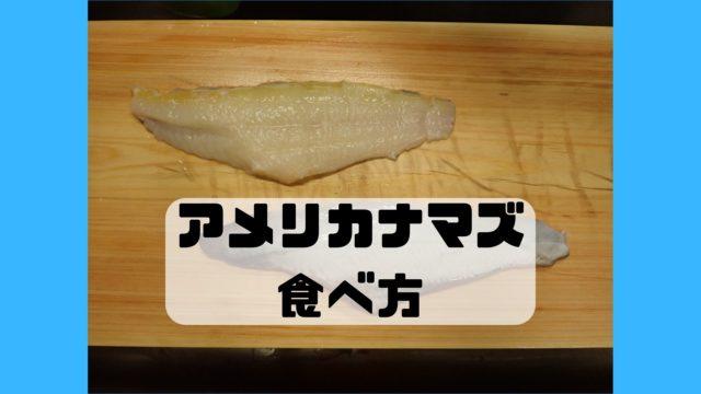アメリカナマズ チャネルキャットフィッシュ 食べ方 調理法 レシピ