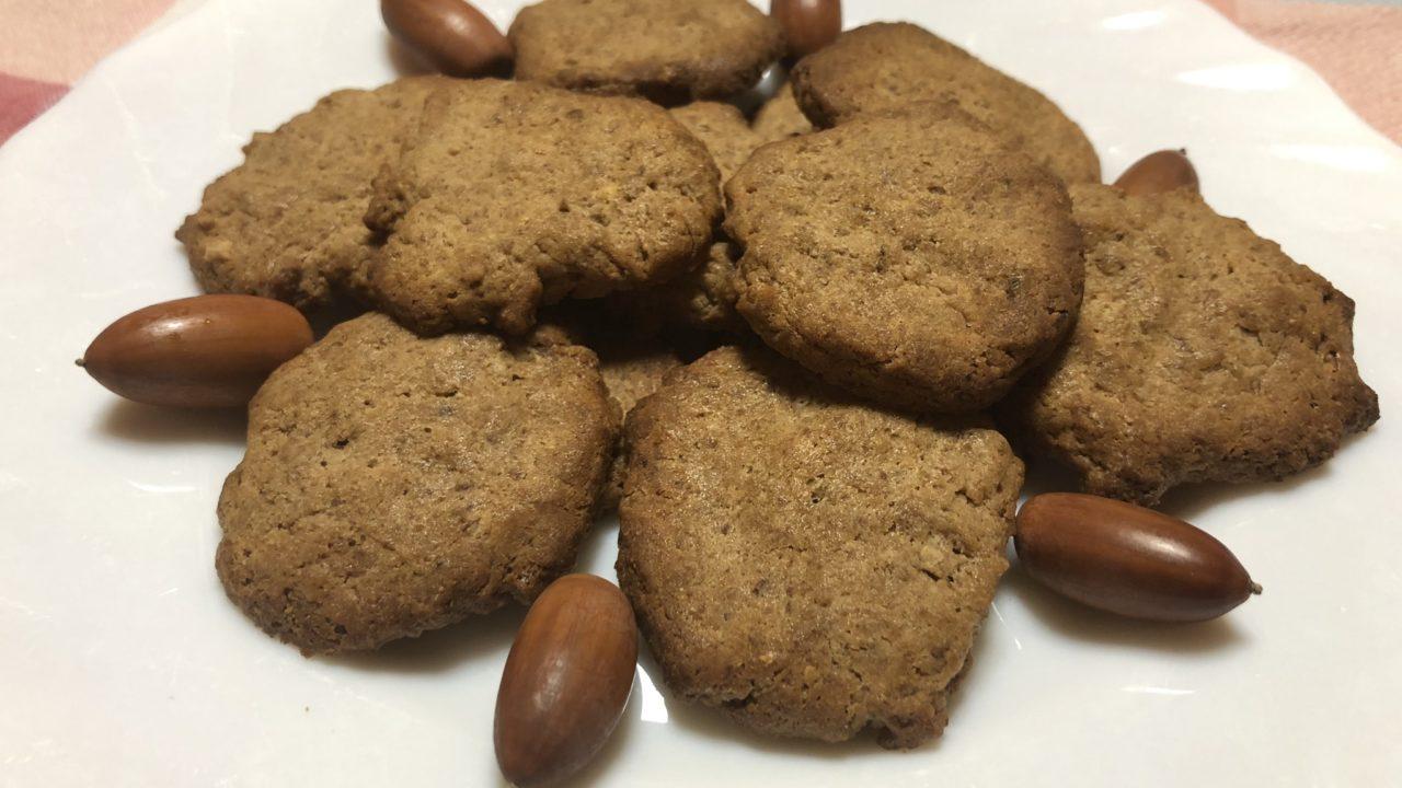 マテバシイ ドングリクッキー 作り方 レシピ